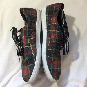 Keds Shoes - Keds Christmas in July Plaid Athletic Shoes